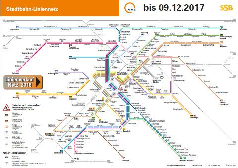 vvs karte VVS Verkehrs  und Tarifverbund Stuttgart